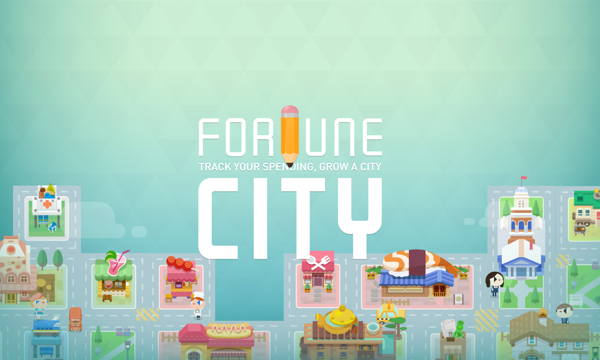 Fortune city banner