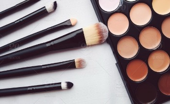 Stock photo colorful cosmetics color colors beige brushes style tools beauty care 89a02b7d 283a 4dd5 b5d1 f4413c6f34d2