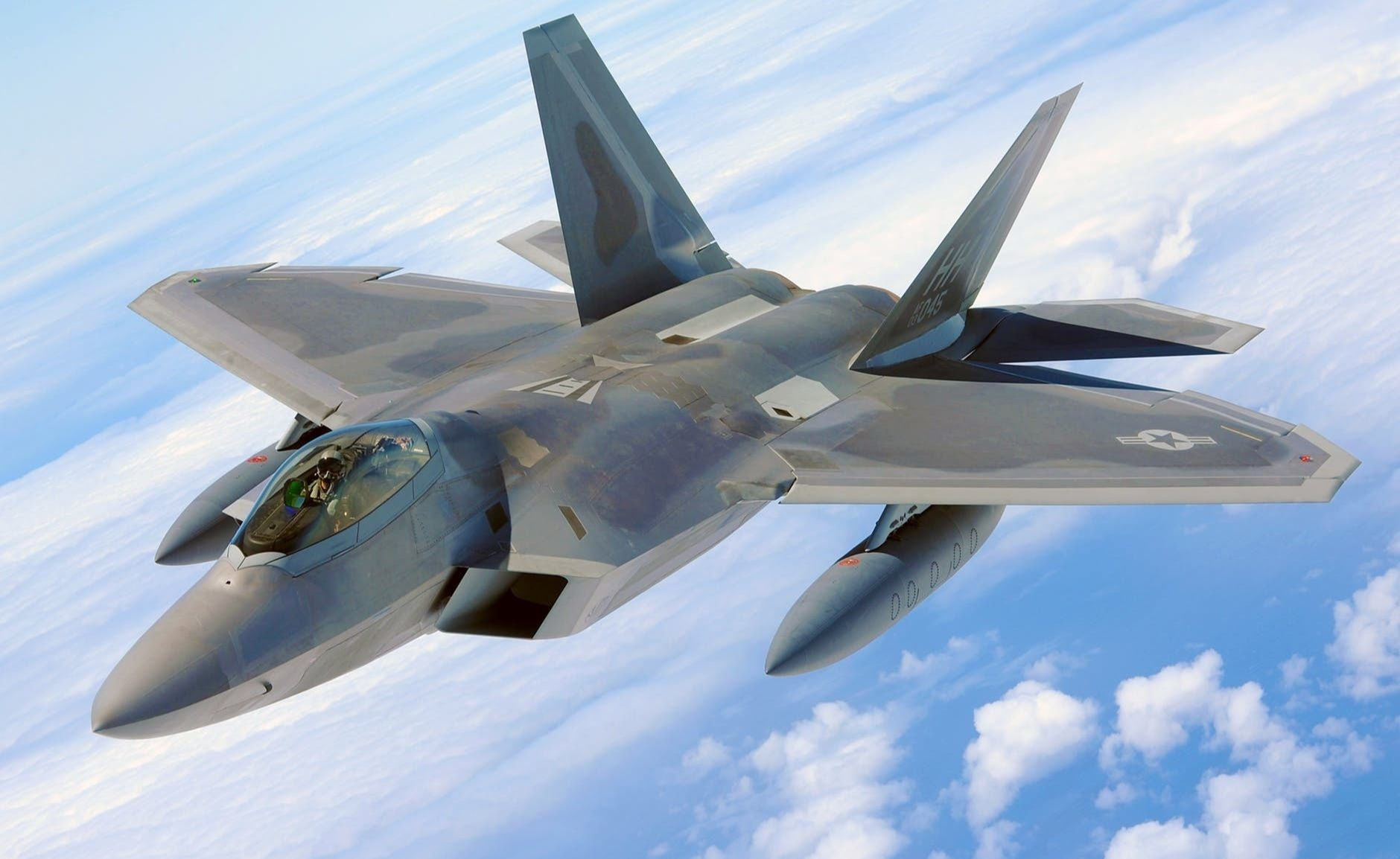 Military raptor jet f 22 airplane 40753